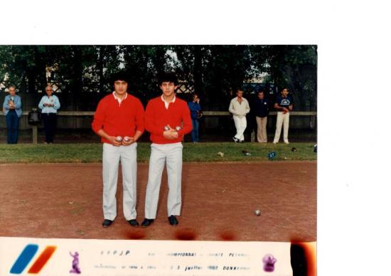 Championnat de  FRANCE 2X2 DUNKERQUE 83