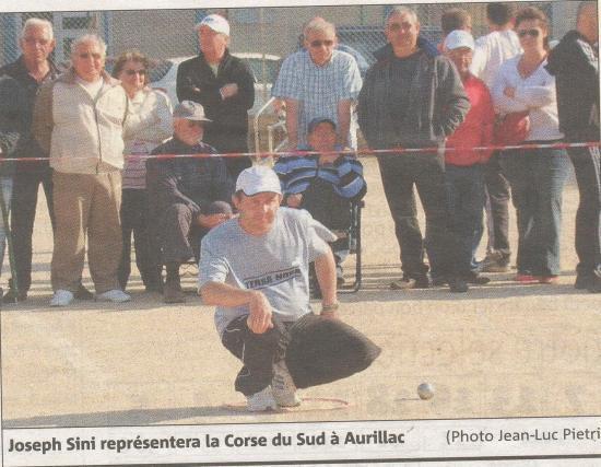 Champion de Corse TETE A TETE 2009