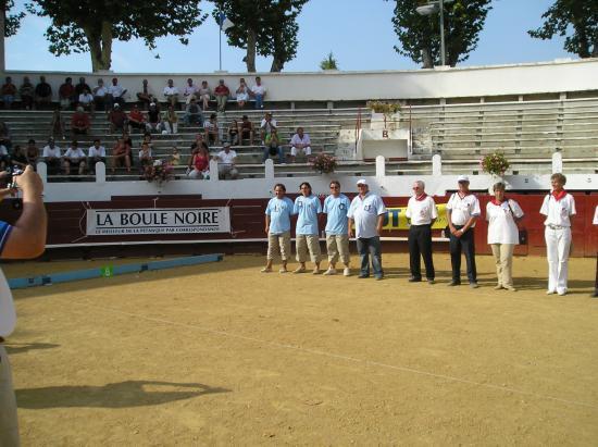 Championnat de France entreprises 2005  (Soustons )