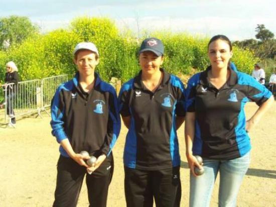 Championne de Ligue Triplettes 2011