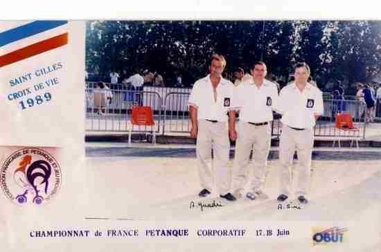 Championnat Corporatif 1979