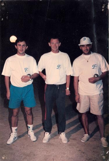 Victoire dans le GP de la boule des Cannes 1995