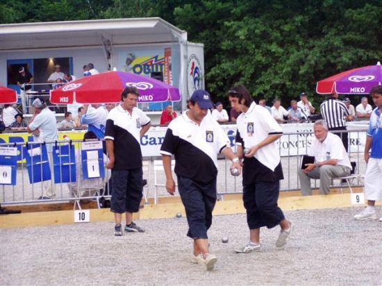 Championnat de France Triplettes LIMOGES 2006