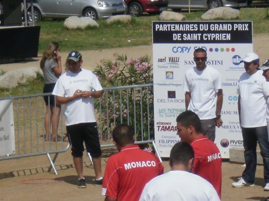 8eme de finale  a St Cyprien