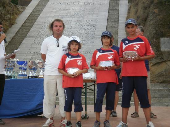 Vice Champions de Corse sud Minimes 2011