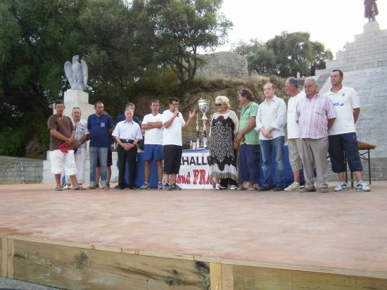 Les organisateurs  du National D'Ajaccio