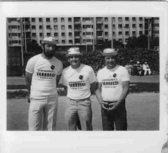 l'equipe de jeu provençal